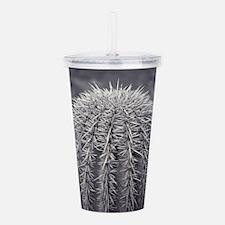 Buzz Cut Cactus Acrylic Double-wall Tumbler