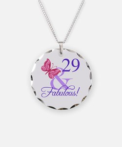 Fabulous 29th Birthday Necklace