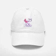 Fabulous 25th Birthday Baseball Baseball Cap