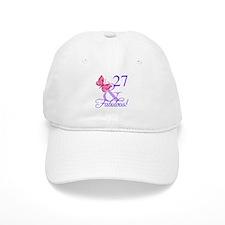Fabulous 27th Birthday Baseball Cap