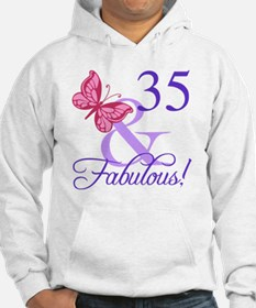 Fabulous 35th Birthday Hoodie