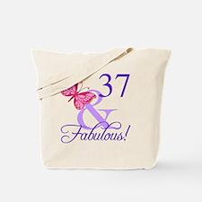 Fabulous 37th Birthday Tote Bag