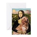 Mona's Golden Retriever Greeting Card