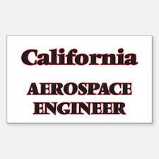 California Aerospace Engineer Decal
