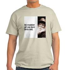 """Whitman """"Re-examine"""" T-Shirt"""