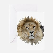 Lion20150806 Greeting Cards