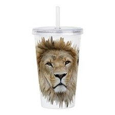 Lion20150806 Acrylic Double-wall Tumbler