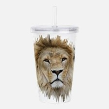Lion20150806 Acrylic Double-wall Tumbler