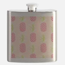 Pineapple Pattern Flask