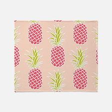 Pineapple Pattern Throw Blanket