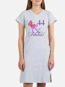 Cute 44th birthday Women's Nightshirt