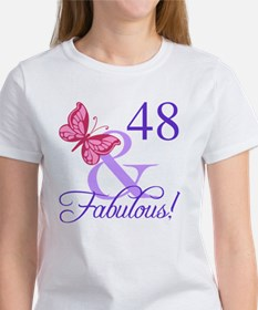 Fabulous 48th Birthday Tee