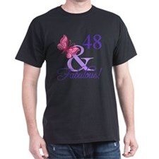 Fabulous 48th Birthday T-Shirt