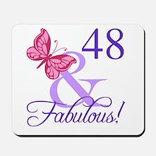 Fabulous 48th Birthday Mousepad