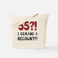 55th Birthday Gag Gift Tote Bag