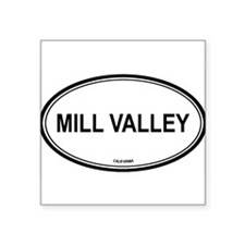 "Cute Town Square Sticker 3"" x 3"""
