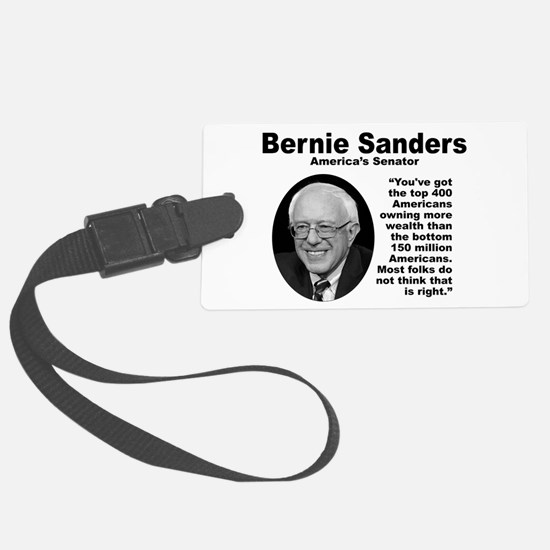 Sanders: 400 Luggage Tag