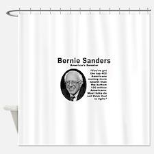 Sanders: 400 Shower Curtain
