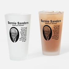 Sanders: 400 Drinking Glass