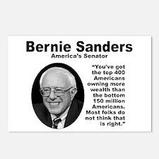 Sanders: 400 Postcards (Package of 8)
