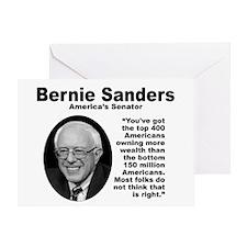 Sanders: 400 Greeting Card