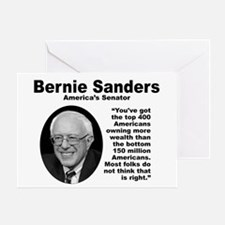 Sanders: 400 Greeting Card