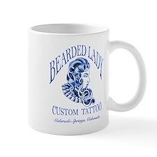 Bearded Lady Logo Mugs