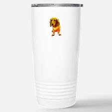 Dachshund Orange Bernad Travel Mug