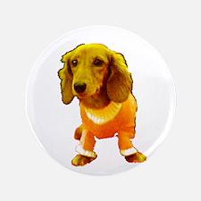 Dachshund Orange Bernadette's Fave Button