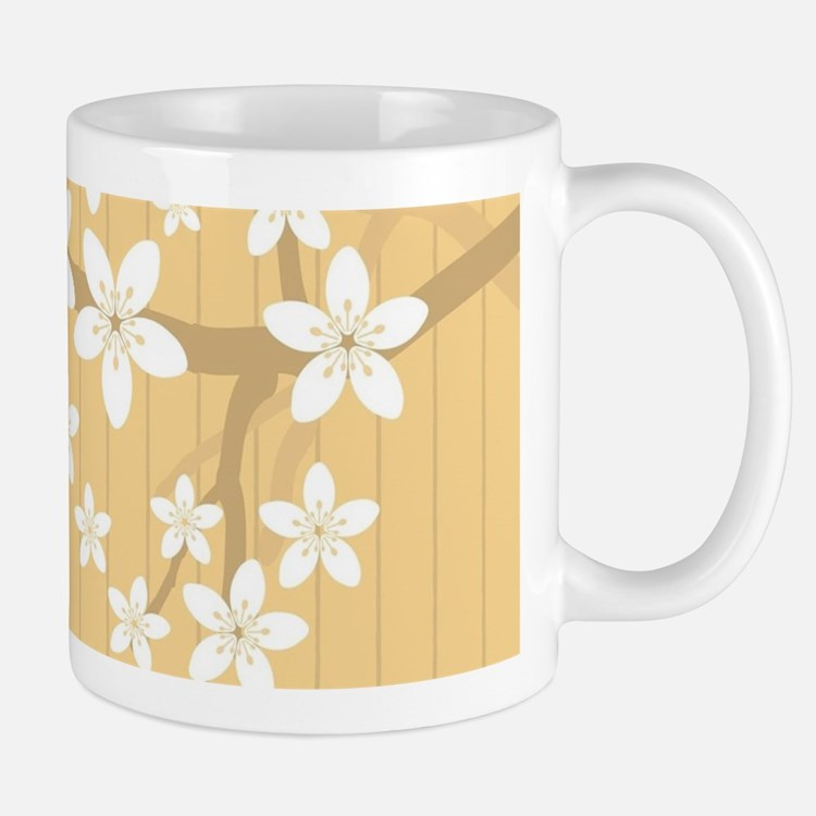 Sakura Blossom Illustration Mugs