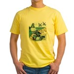 Wild Pigeons Yellow T-Shirt