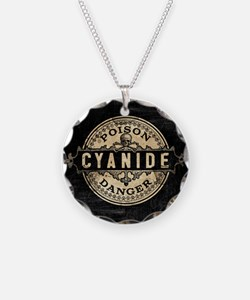 Vintage Style Cyanide Necklace