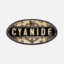 Vintage Style Cyanide Patch