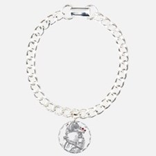 Anitomical Heart with Bl Bracelet
