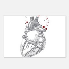 Anitomical Heart with Blo Postcards (Package of 8)