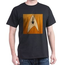 STARTREK TOS CMD WOOD 1 T-Shirt