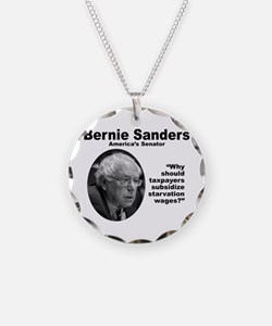 Sanders: Wages Necklace