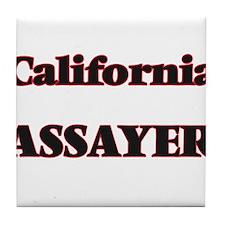 California Assayer Tile Coaster