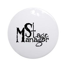 Stage Manager Ornament (Round)