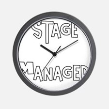 Stage Manager Wall Clock