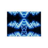 Soundwave music 5x7 Rugs