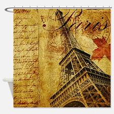 Paris VI Shower Curtain