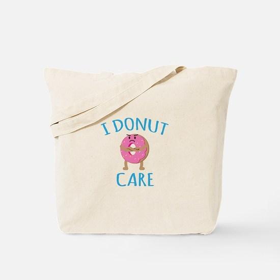 I Donut Care Tote Bag