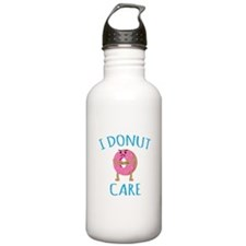 I Donut Care Water Bottle