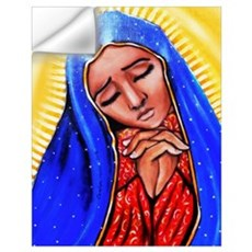 Blessed Mother Wall Decal