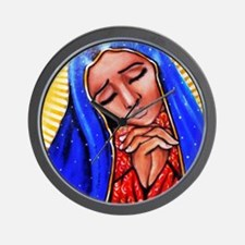 Blessed Mother Wall Clock