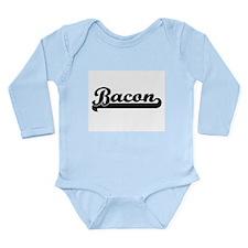 Bacon Classic Retro Design Body Suit