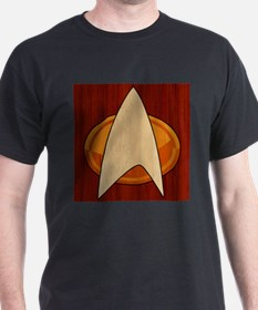 STARTREK TNG WOOD 1 T-Shirt