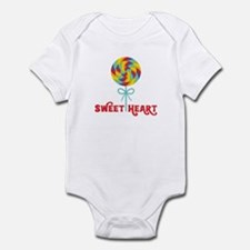 Sweetheart Rainbow Lollipop Body Suit