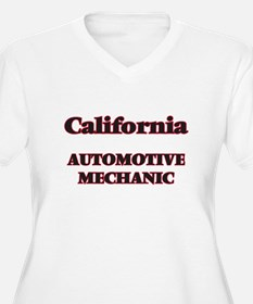 California Automotive Mechanic Plus Size T-Shirt